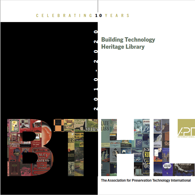 BTHL 10th Anniversary Publication Cover